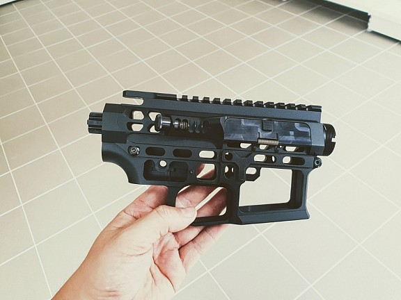 CNC tělo AR15 (Skeletonized) - B